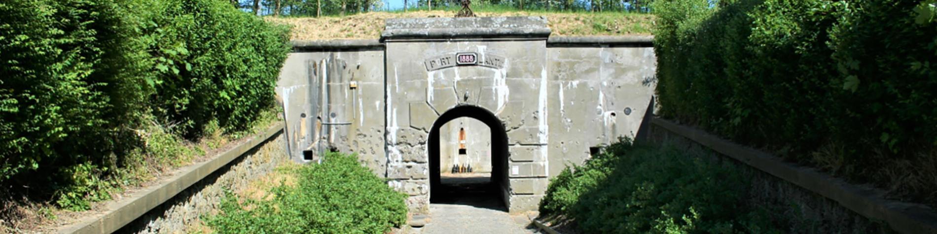 Le Fort de Lantin - entrée