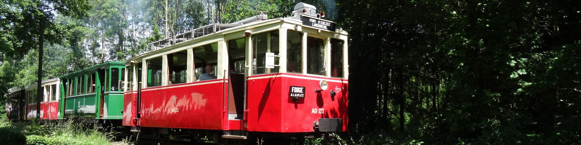 Maison du Tourisme - Ourthe et Aisne - Attraction train touristique - Erezée