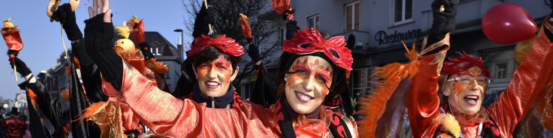 Carnaval d'Eupen, festivités du Lundi des Roses (Rosenmontag)