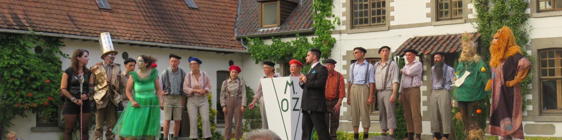 Evénement au Centre Culturel du Pays des Collines - Création Théâtrale 2018 Le Magicien d'Oz