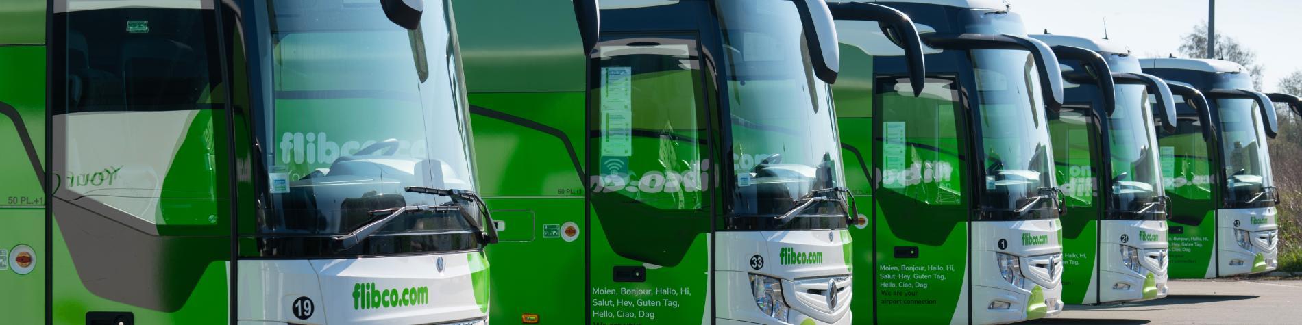 Flibco.com - Parking de bus - aéroport