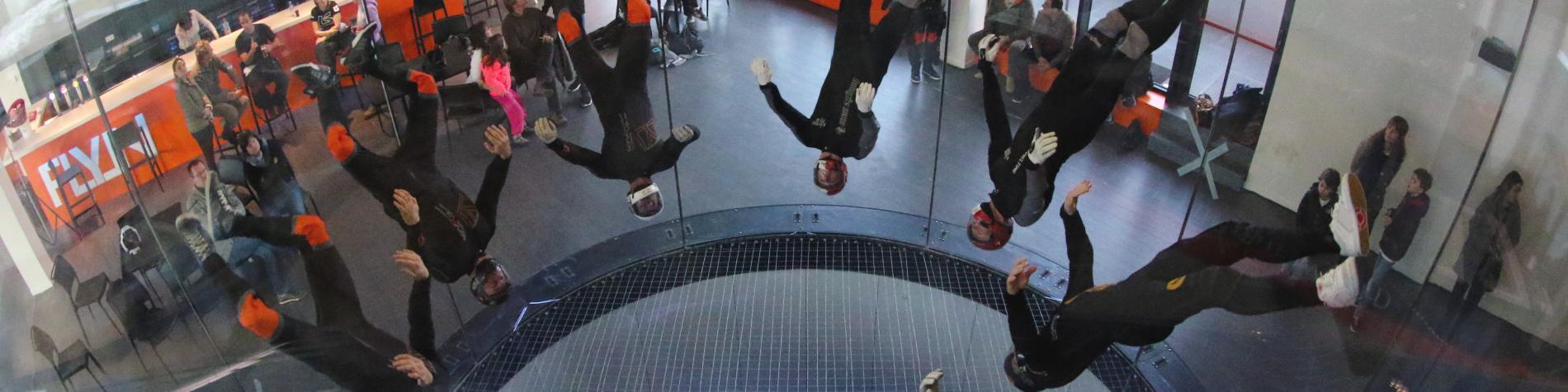 Tunnel Fly in pour teambuilding en Wallonie