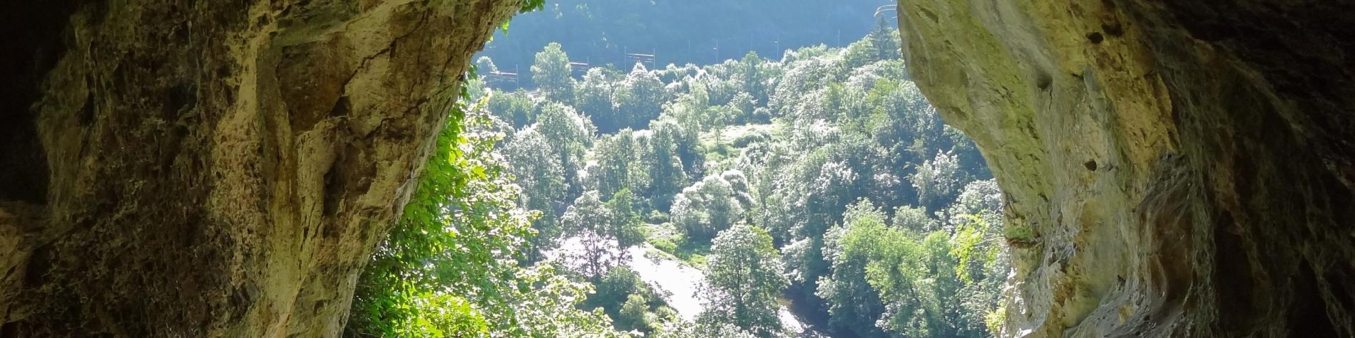 Parc de Furfooz - Vue sur la Lesse