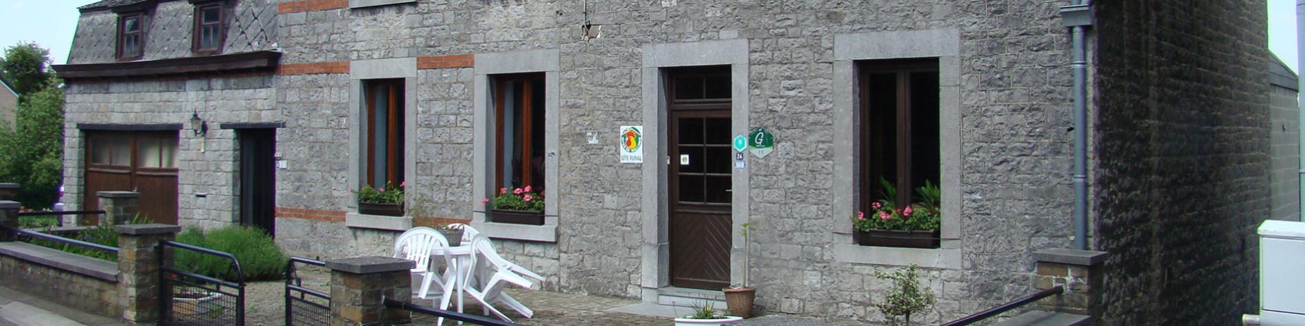 Bac - Gîte rural - Comblain-au-Pont - façade