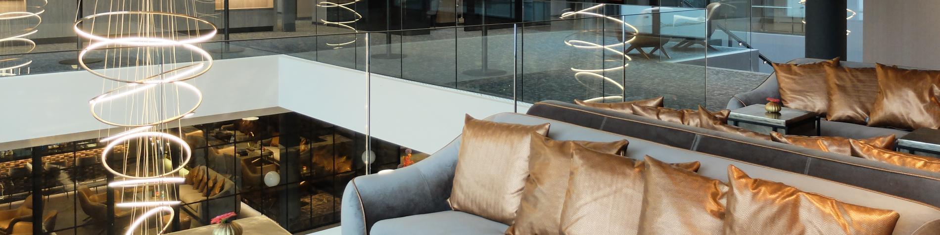 Coffee Corner à l'étage de l'hôtel Van der Valk Nivelles-Sud