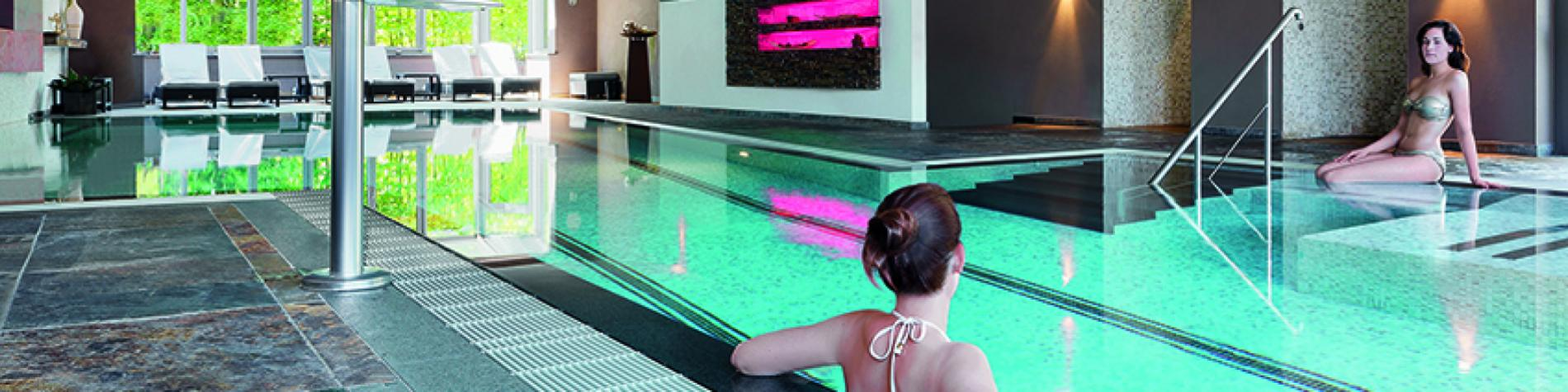 Discover the swimming pool at The Hotel Bütgenbacher-Hof
