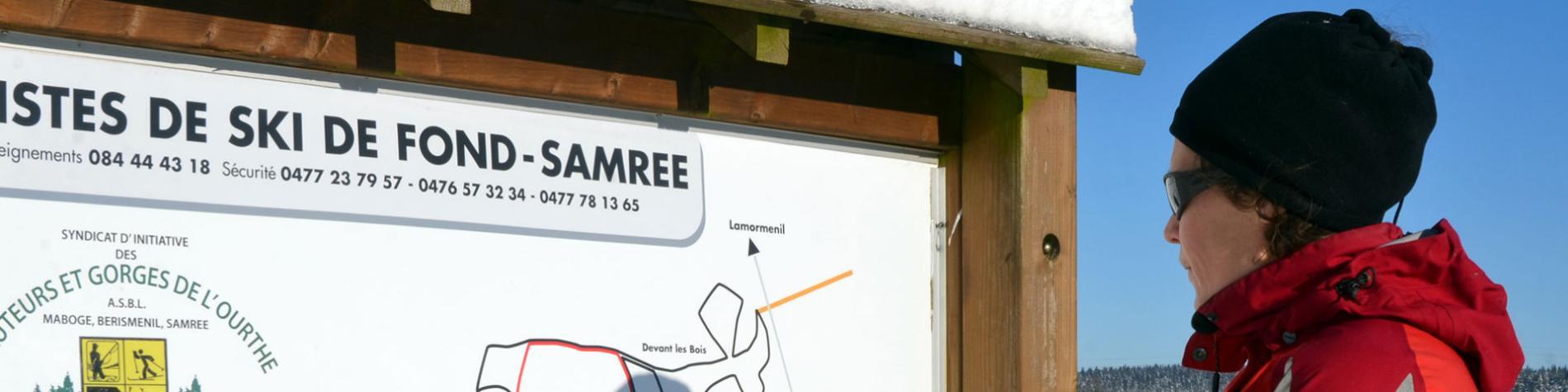 HGO - centre de ski nordique - Samrée