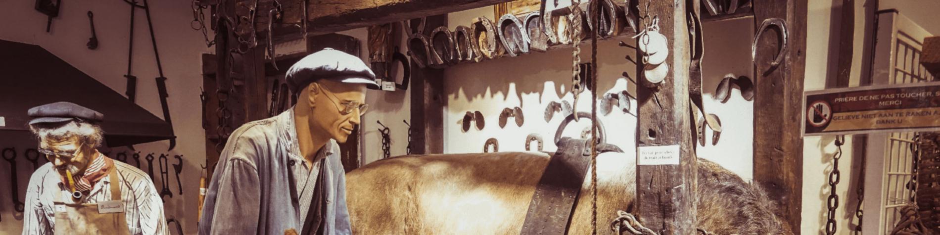 Domaine des Grottes de Han - Han 1900 - Maison - vie paysanne - métiers oubliés