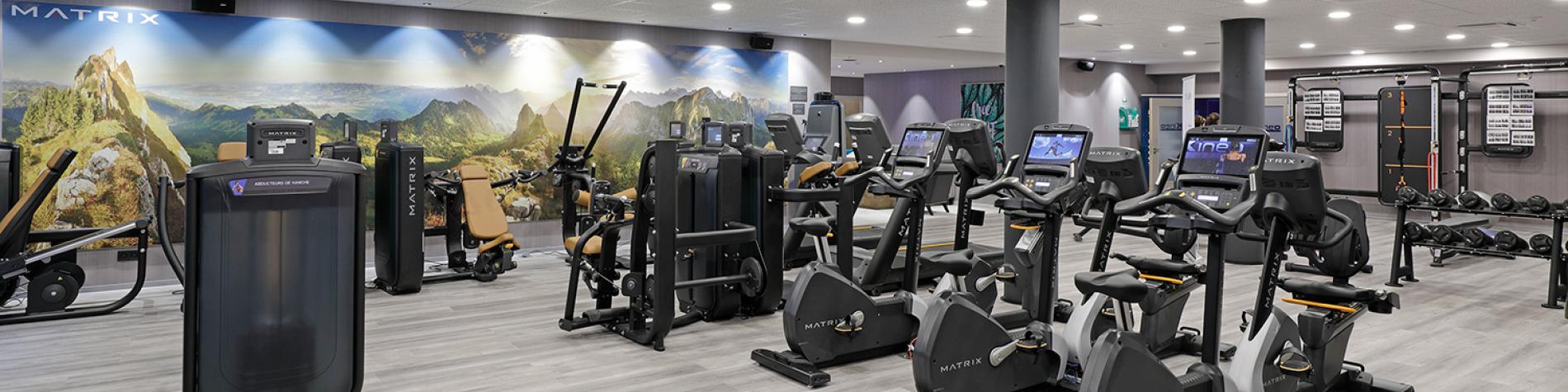 Salle fitness de l'hôtel Van der Valk Nivelles Sud