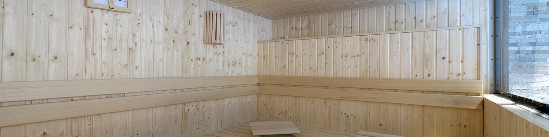 Sauna de l'hôtel Van der Valk Nivelles Sud