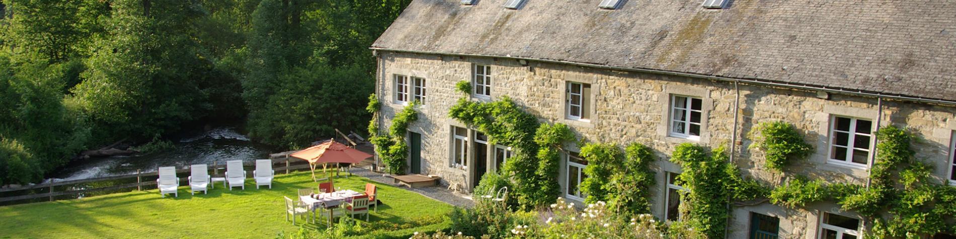 Le Moulin de Resteigne - Chambres d'hôtes - Wallonie Terre d'Eau