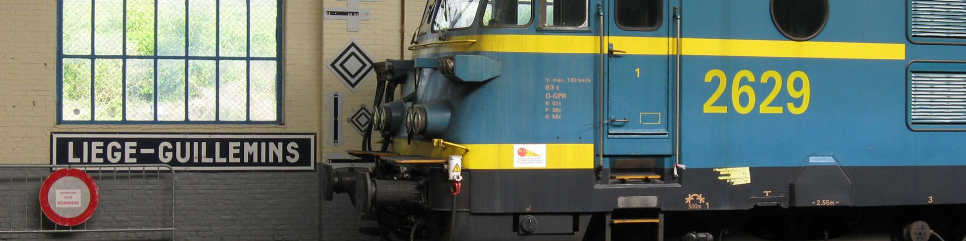 Le Musée du Rail - ASBL - Patrimoine Ferroviaire - Tourisme - wagons - gare - Saint-Ghislain - Hainaut - locomotives - autorails - voitures