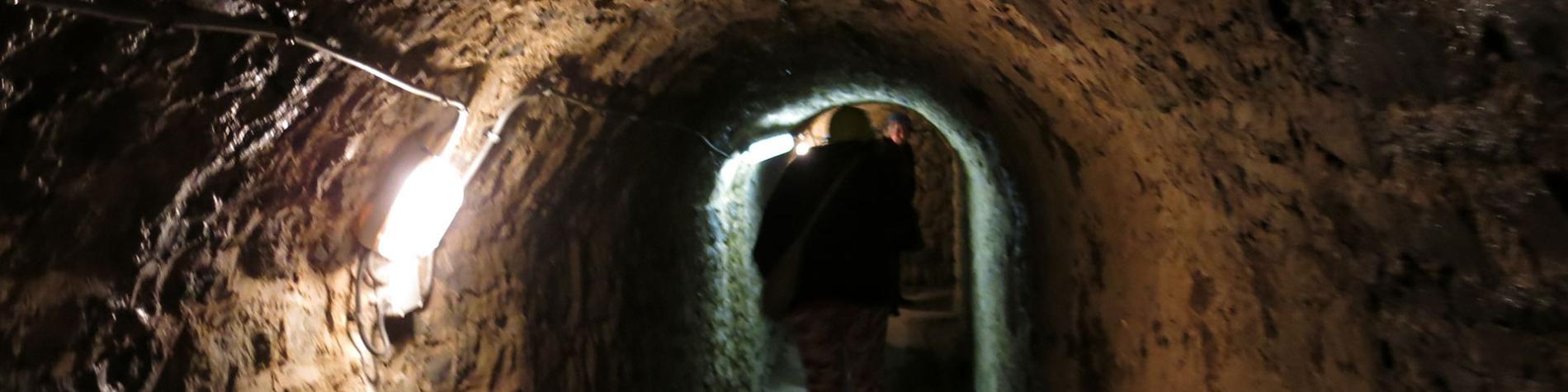 souterrains - Philippeville - XVIIe siècle - enceinte - bastions