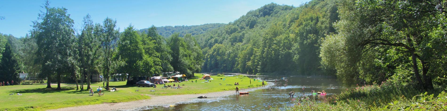 camping en Wallonie - camp - campement - bivouac - aire touristique - nature - camping d'Houlifontaine