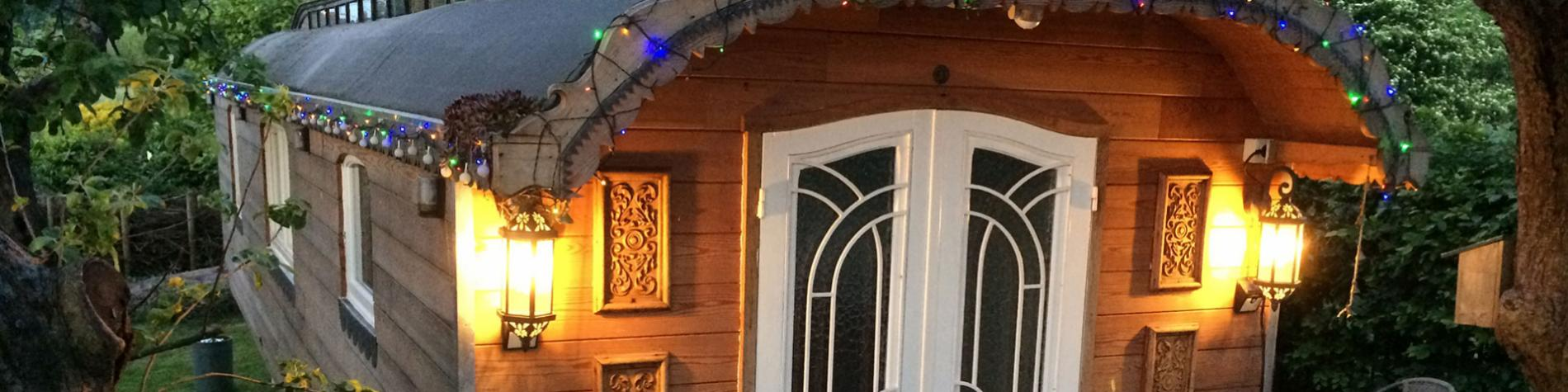 Roulotte - Annabelle - mini-maison - vacances - Soy - Erezée