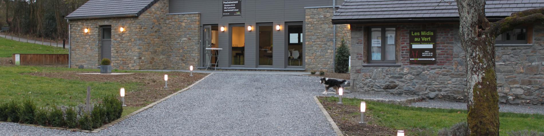 - Gîte Les Midis au Vert à Stavelot | Meublé de vacances pour 8 à 9 personnes