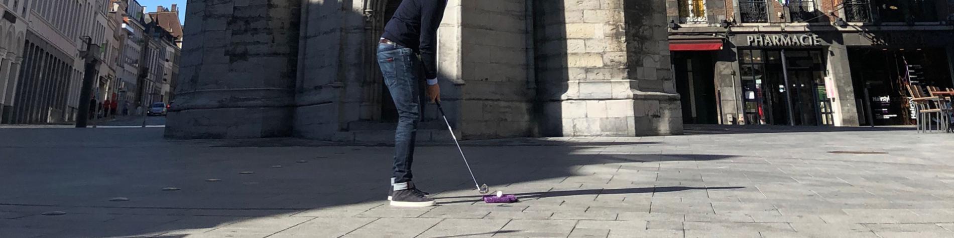 Le City Golf - Visitez Tournai pratiquer - golf urbain
