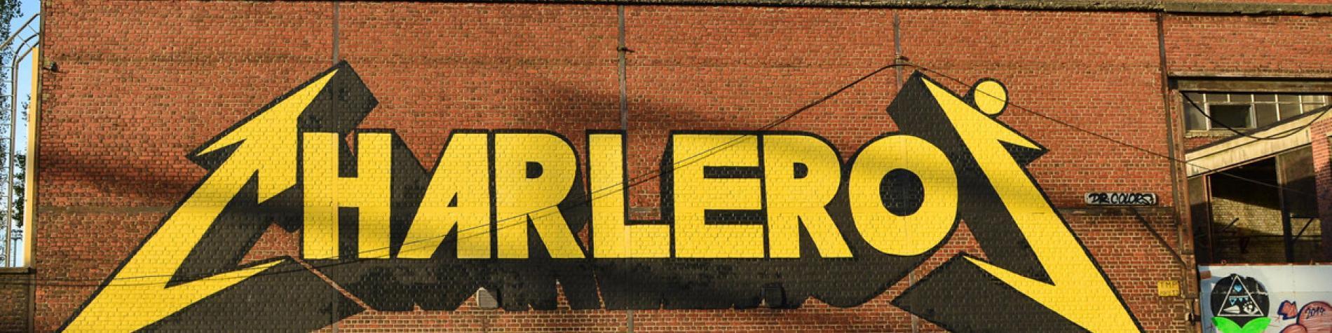 Charleroi street art - Discover Belgium