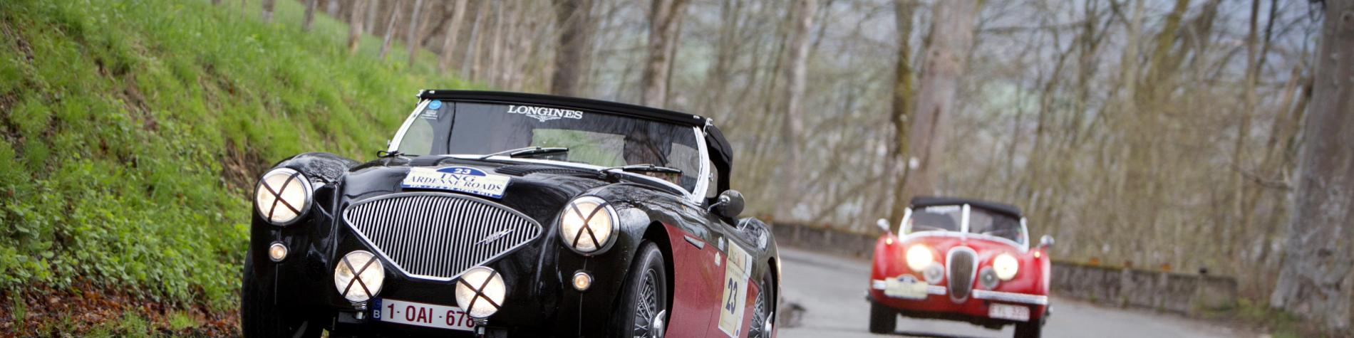Activités Sport automobile - voitures anciennes - Ardenne Roads - Marche-en-Famenne