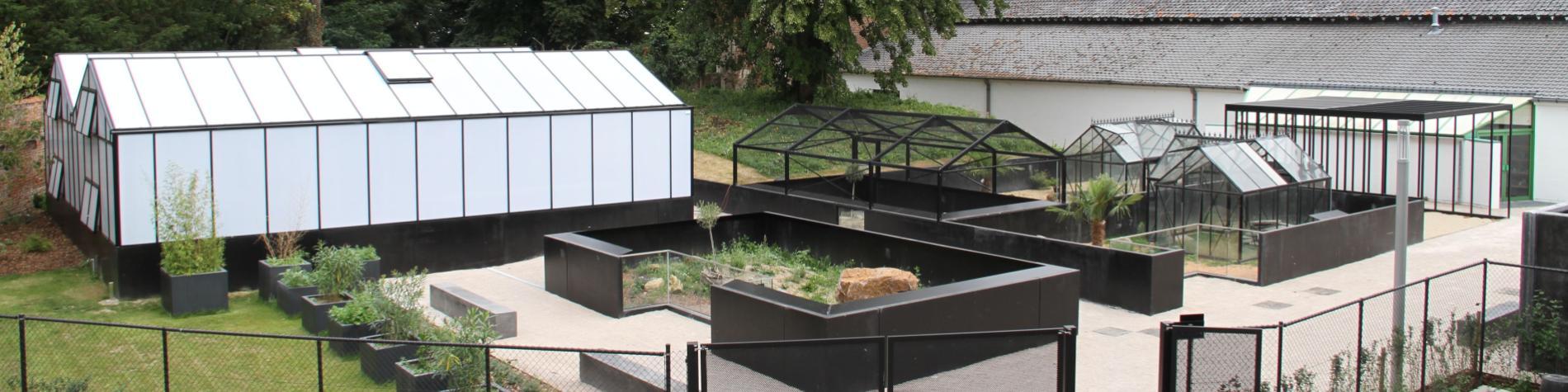Musée d'Histoire naturelle -vivarium -Tournai -Jardin