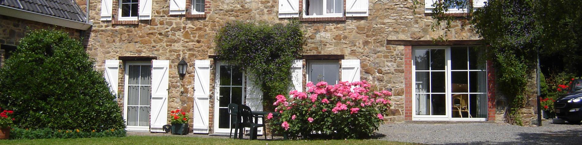 Gîte rural - Les Bansions - Sart-lez-Spa - Jardin