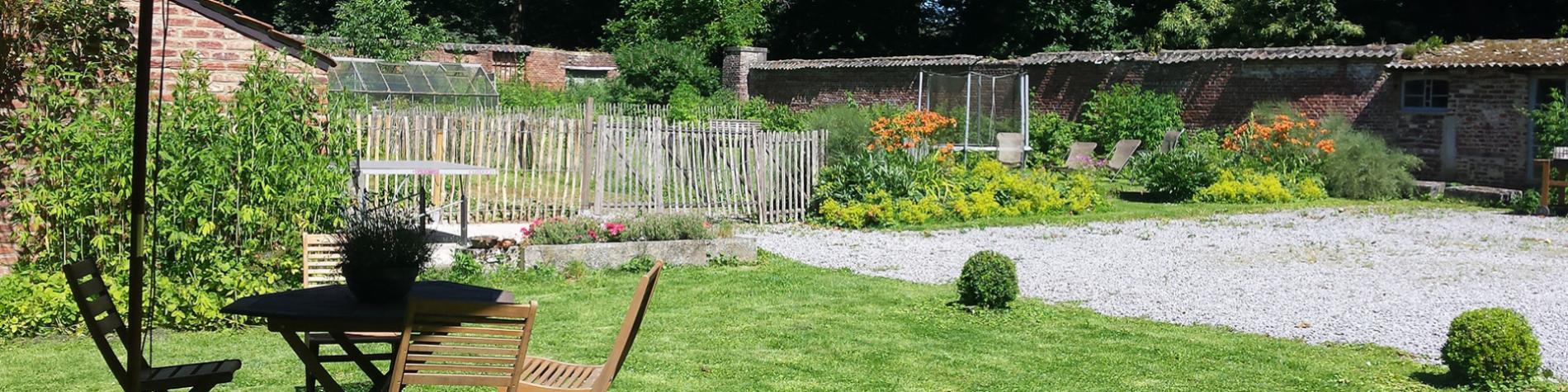 Gîte rural - Le Tulipier de l'Empereur - Waremme - 10 à 11 personnes - 4 chambres - jardin