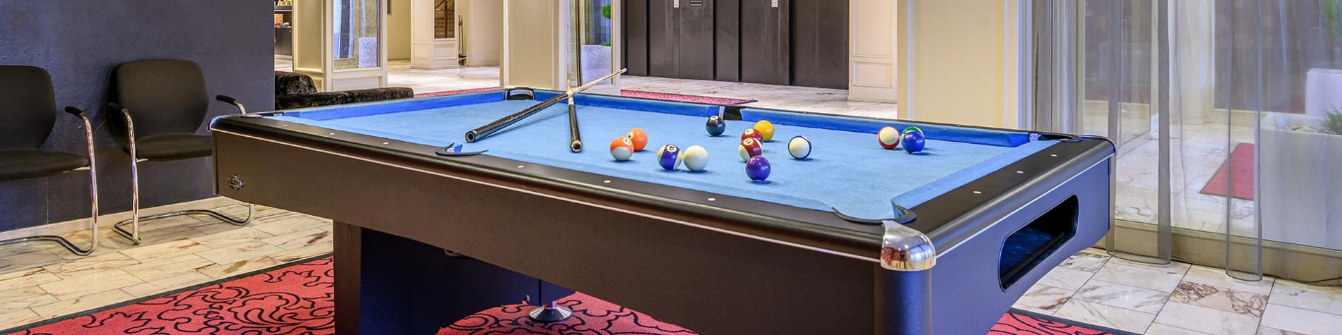 Hôtel - Mercure - Liège City Center - table - billard