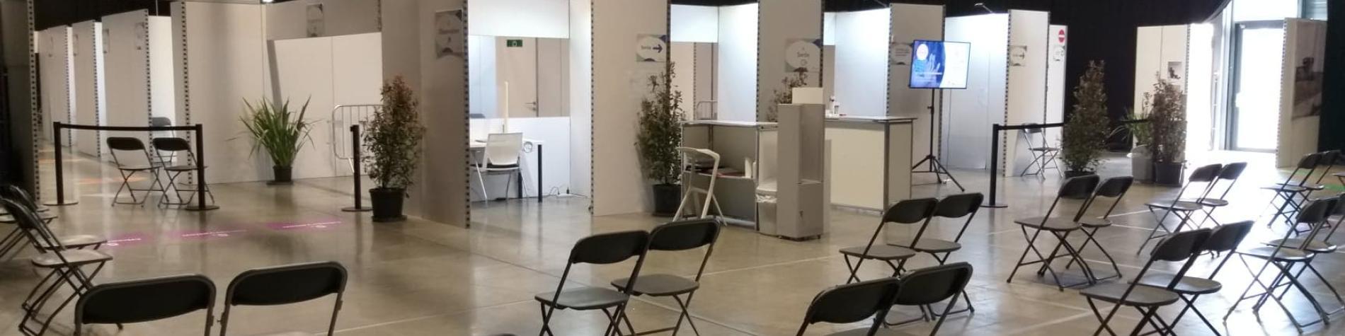 Centre de vaccination - LouvExpo