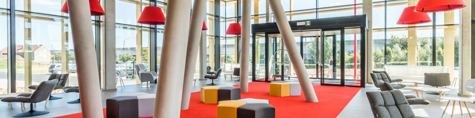 Hôtel Martin's Red - Tubize - Moderne - confortable - 4 étoiles - Diables Rouges