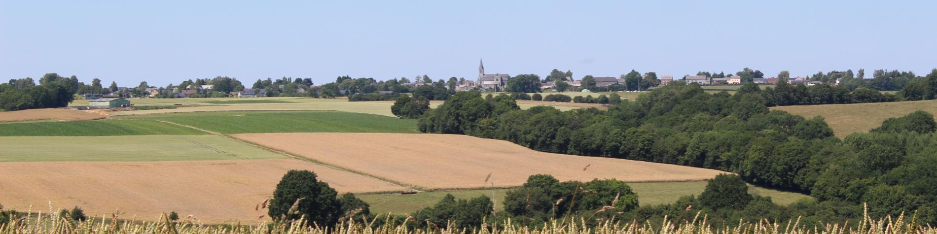 Village de Maillen - Vue d'été - province de Namur