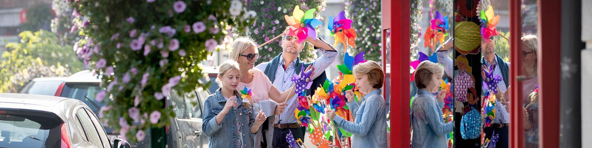 Malmedy - Famille - magasin de jouet - moulin à vent