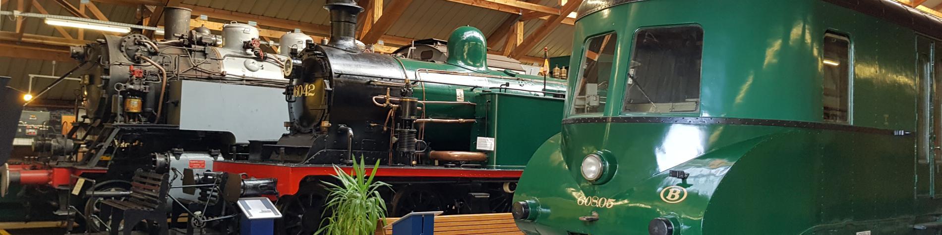Chemin de fer à vapeur - Musée - Treignes