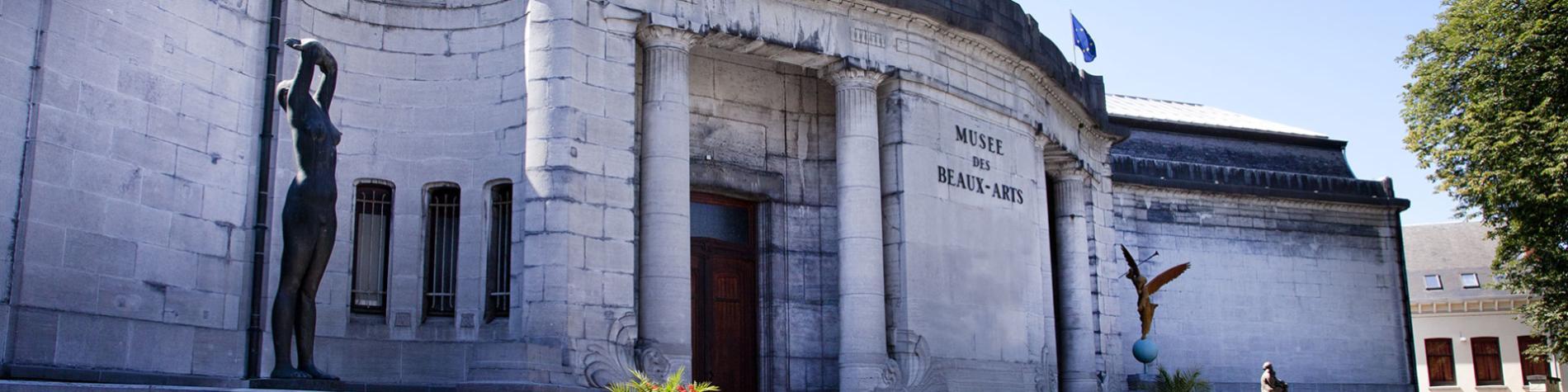 Musée - Beaux-Arts - Tournai -façade