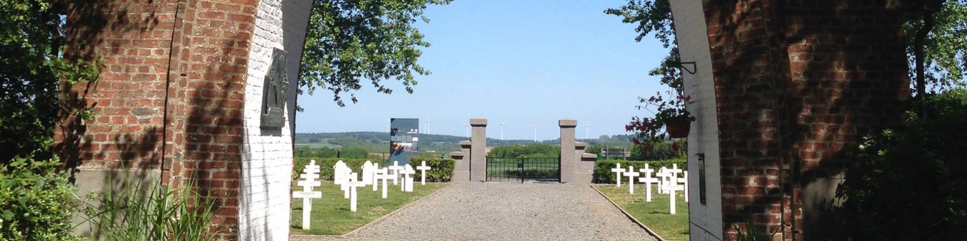 Nécropole - Belle Motte - Parcours mémoriel - 14-18 - Combats - Bataille de la Sambre