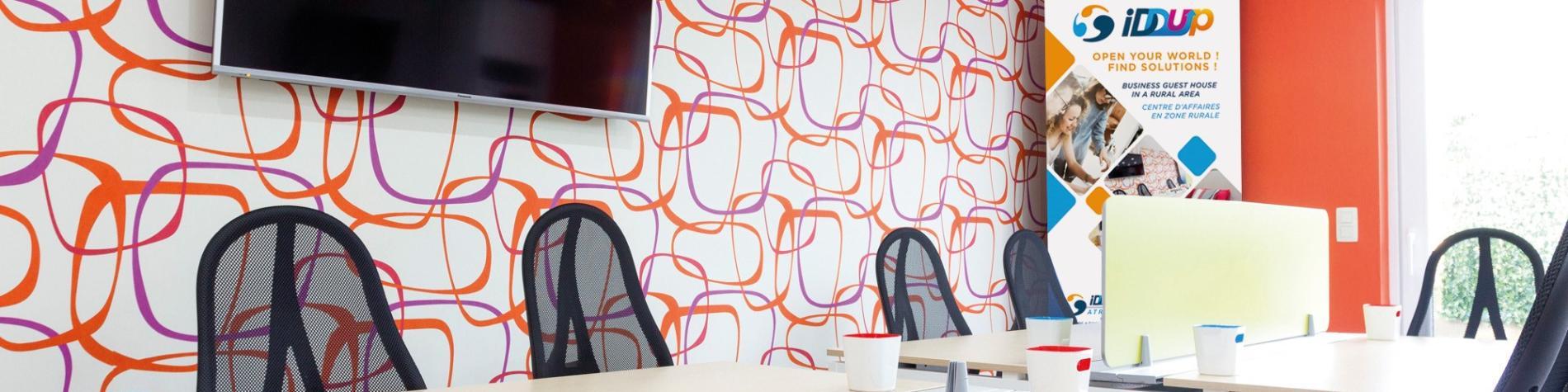 IDDUP Atrium Première Business Guesthouse en Wallonie, Réunion, meeting