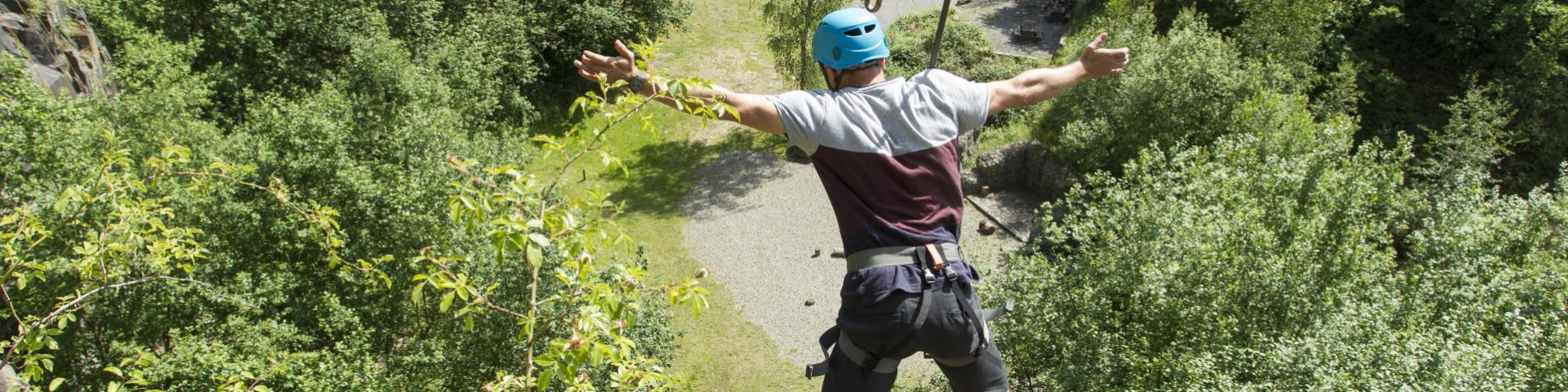 WANT – Wallonie Aventure Nature Tourisme, le saut dans le vide