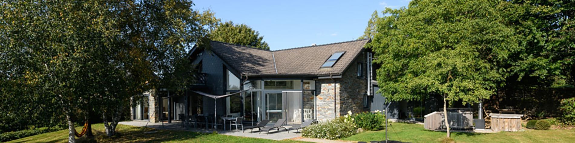 Le Coup de coeur de Marie - Gîte rural - Robertville - Ovifat - Terrasse du Bayehon