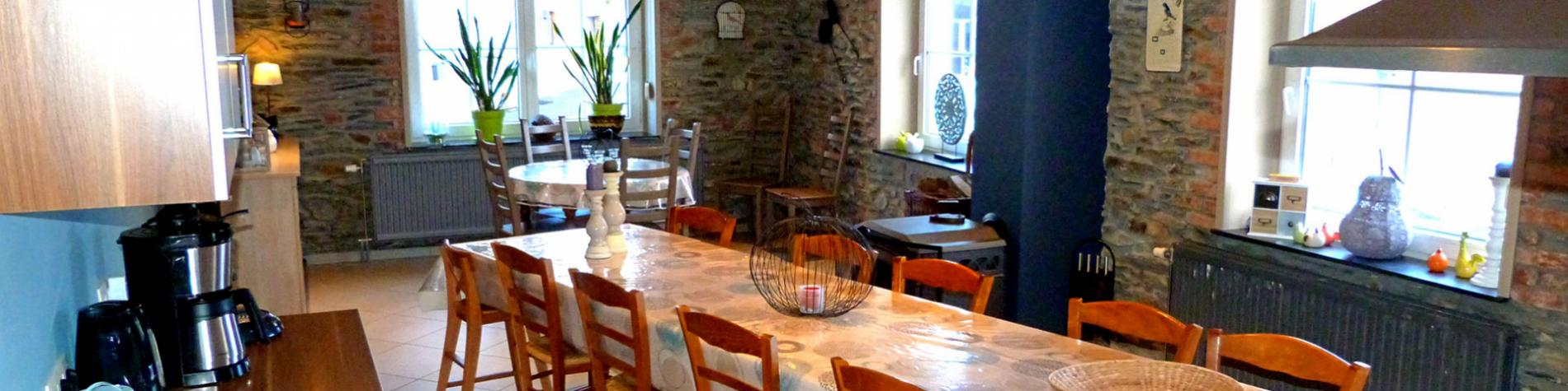 Gîtes du Rancourt - Le Logis - Gîte rural - Sainte-Ode - Ardenne