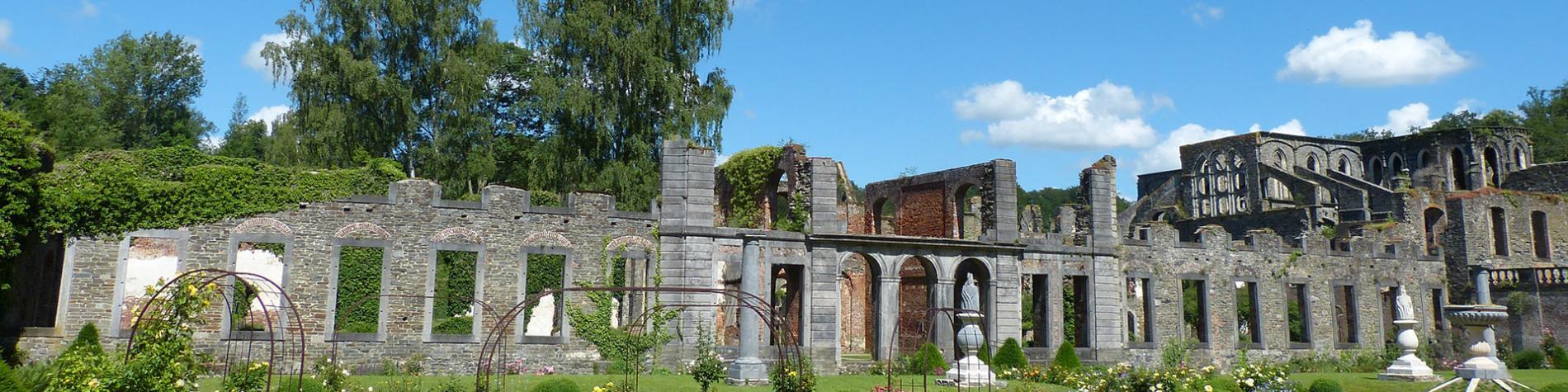 Abbaye - Villers-la-Ville - jardins- Patrimoine exceptionnel - Wallonie