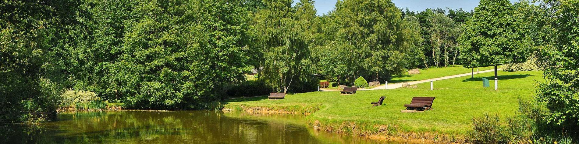 Domaine de Bérinzenne - Parc et étang