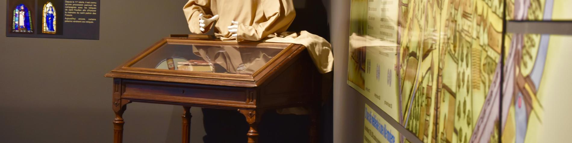 ReGare | Fosses-la-Ville | Vue de l'intérieur du musée