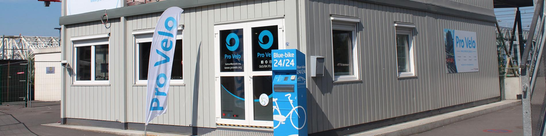 Pro Velo - Hainaut - Point Vélo - gare - Mons