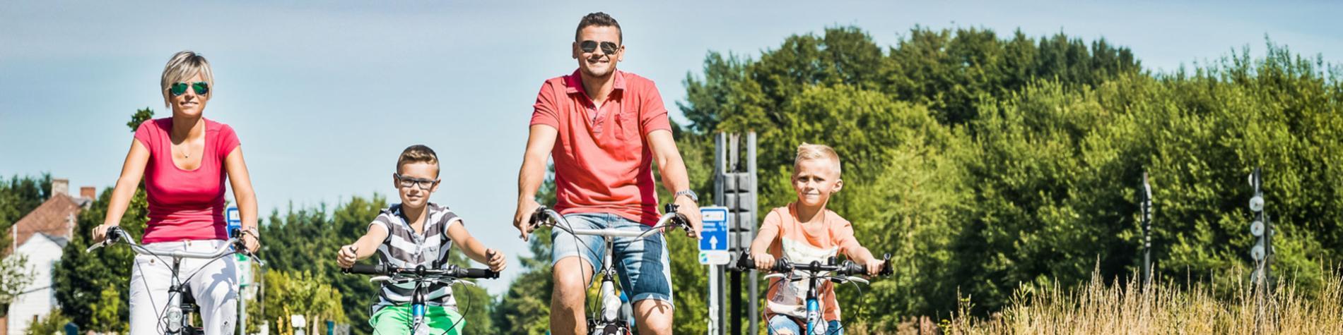 ravel vélo famille balade