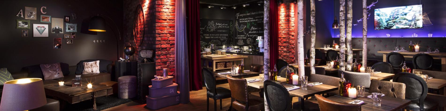 Restaurant du pentahotel Liège