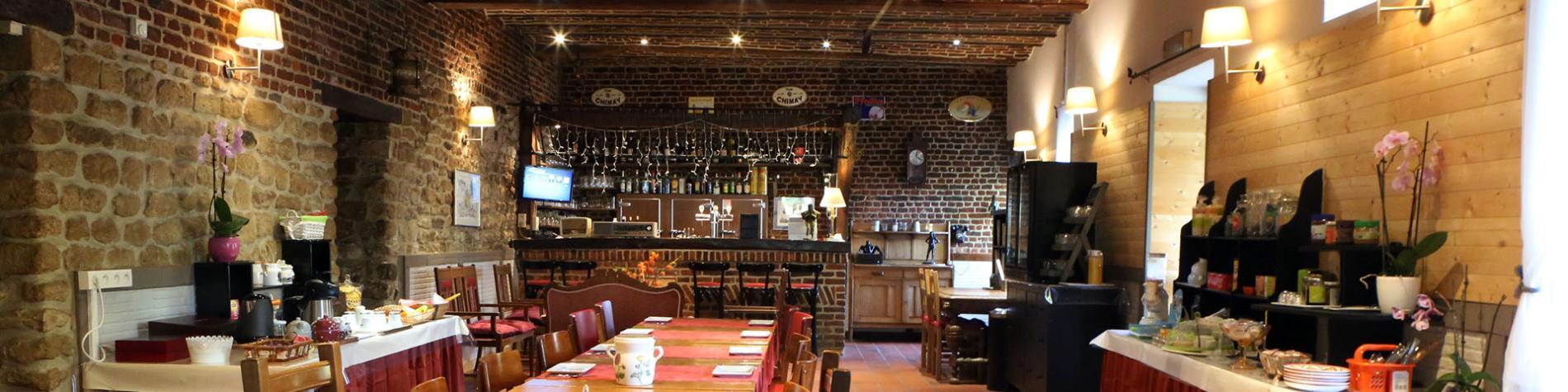Ferme - Grambais - Hôtel - Nivelles - petit déjuner