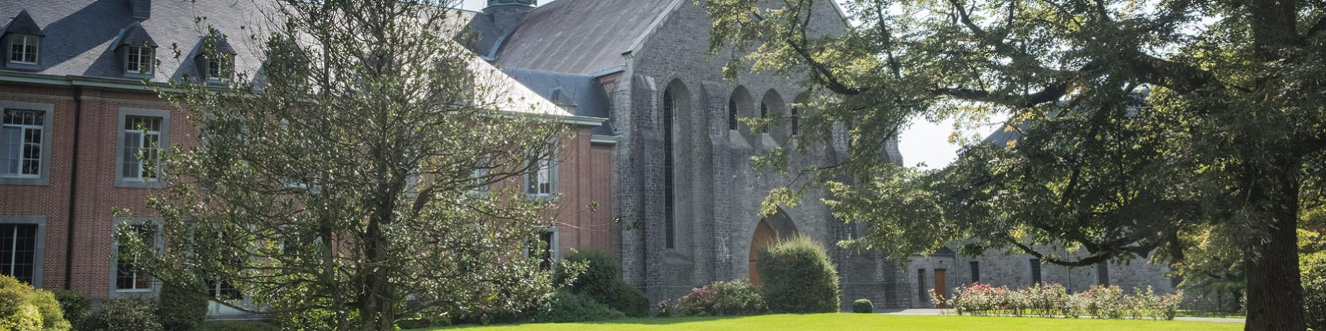 Sentiers - GR - Abbayes - Trappistes - Wallonie - Abbaye de Scourmont