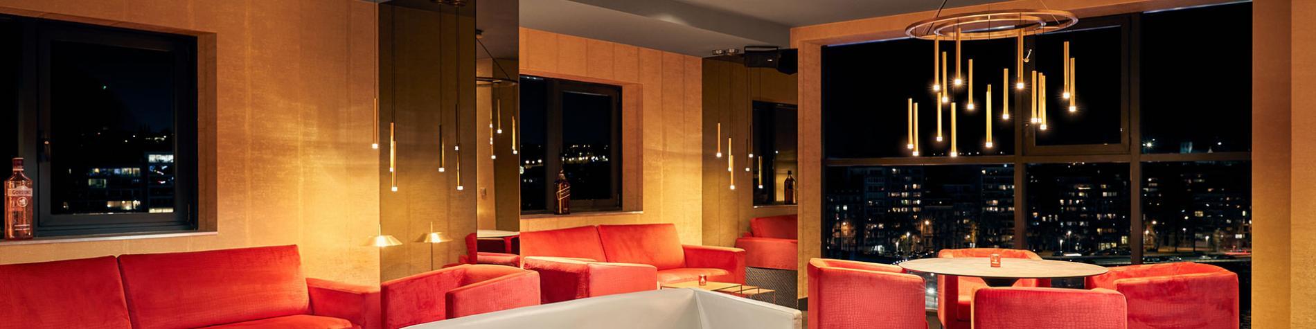 Hôtel - restaurant - Van der Valk - Liège Congrès - sky bar