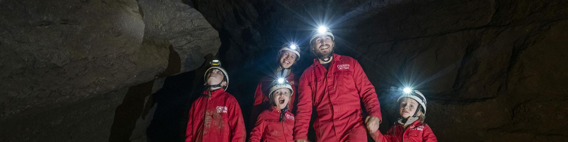 Speleo Quest - Parcours spéléo - Domaine des Grottes de Han