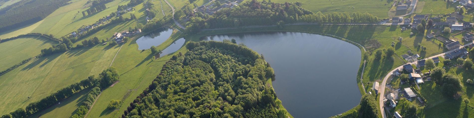 Centre de pêche - lacs - étangs de Freux - Wallonie insolite