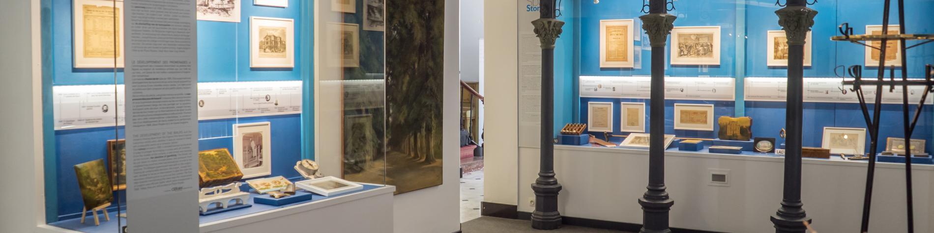Besichtigen Sie das Museum der Stadt des Wassers in Spa